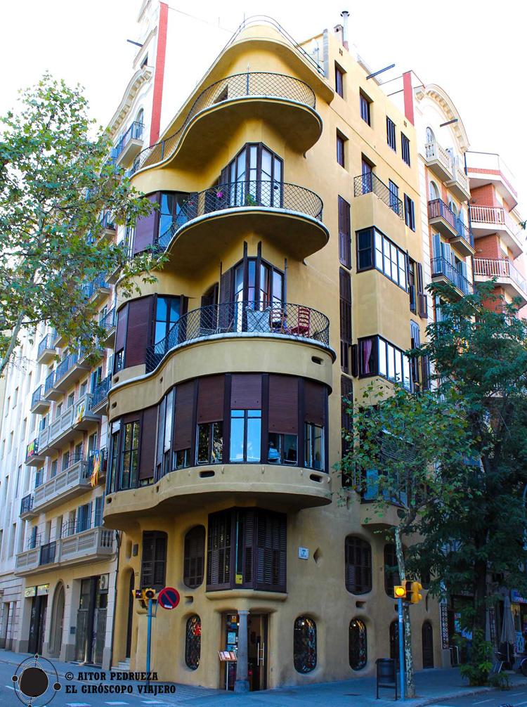 Casa Planells de Josep María Jujol