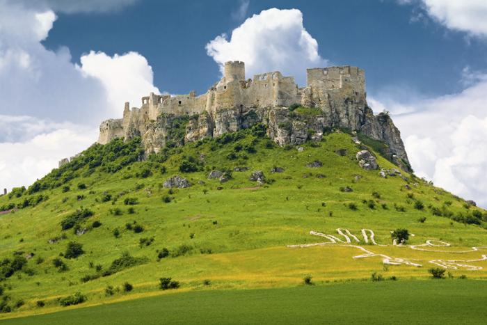 Castillo de Spis en Eslovaquia