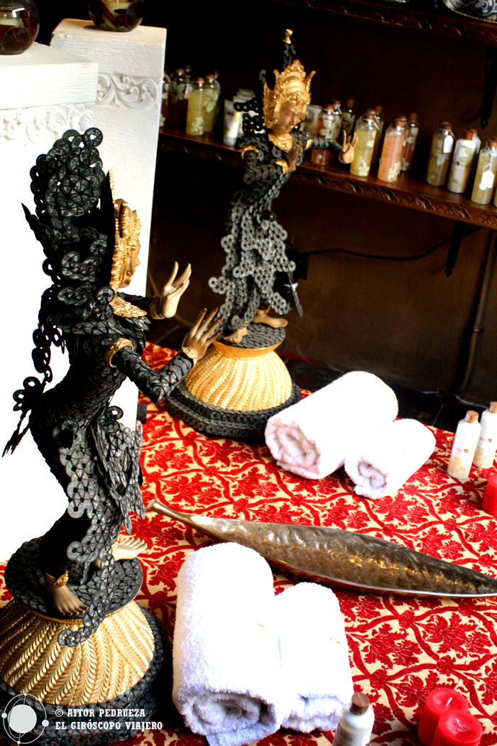 Decoración oriental en el Bali Spirit