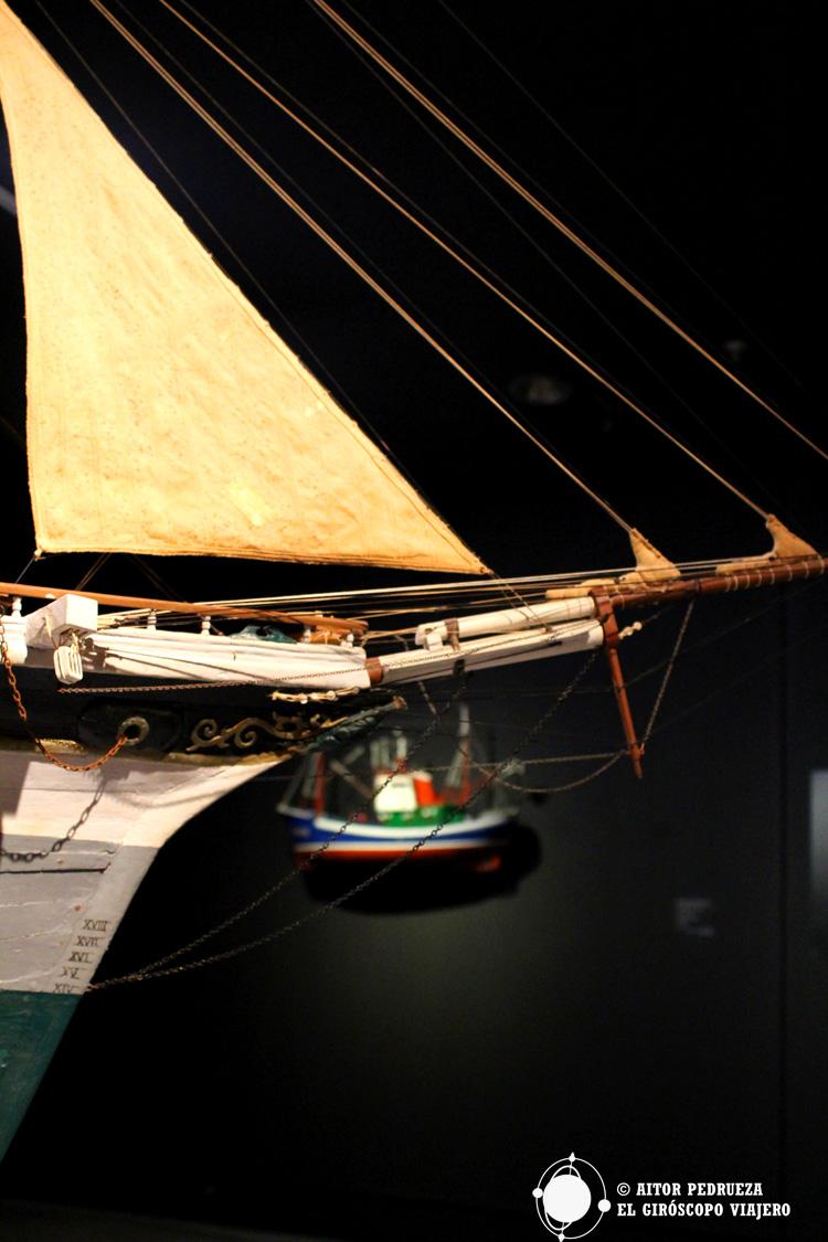 Maquetas del Museo Marítimo