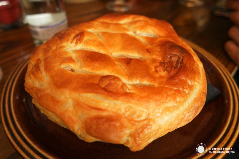 Cri_Pie , el plato por excelencia del restaurante y pub Criterion Public House