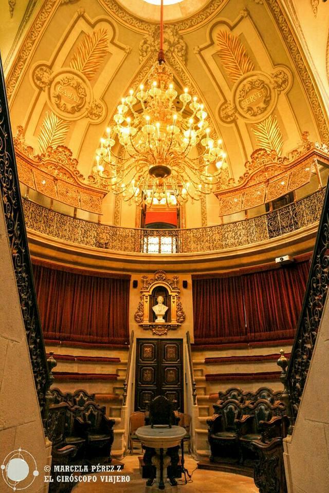 Sala del anfiteatro anatómico de Barcelona