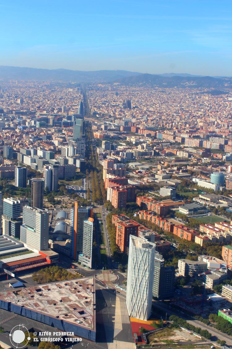 Vista de la Diagonal desde el Forum
