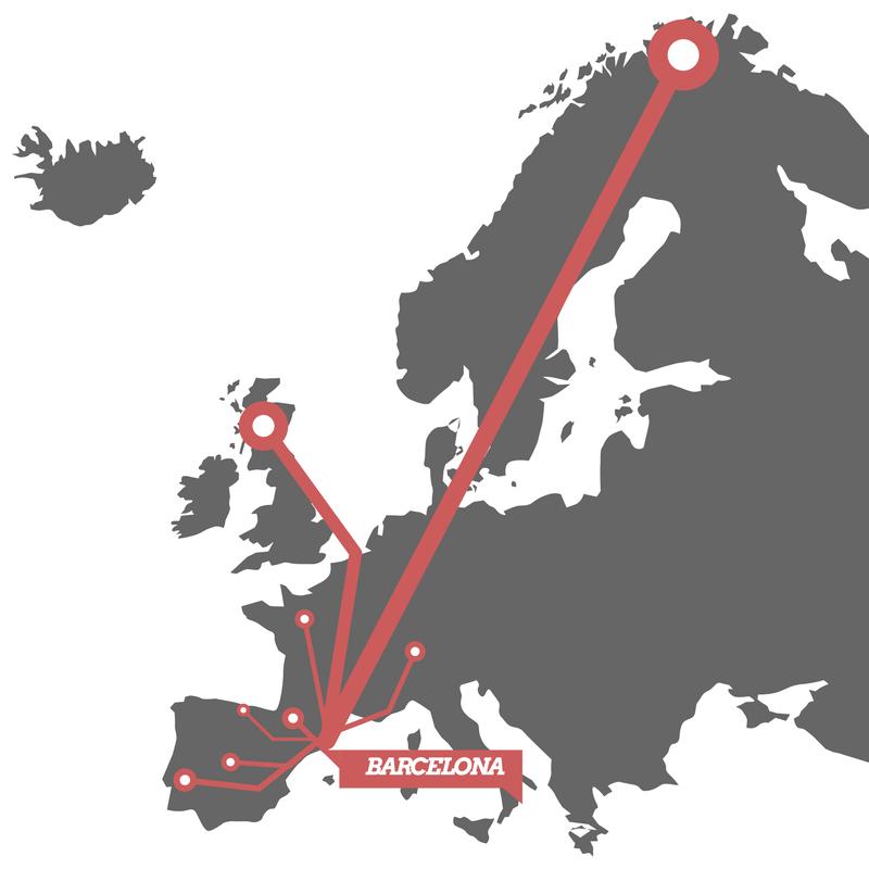 Tours y rutas en moto por Europa desde Barcelona