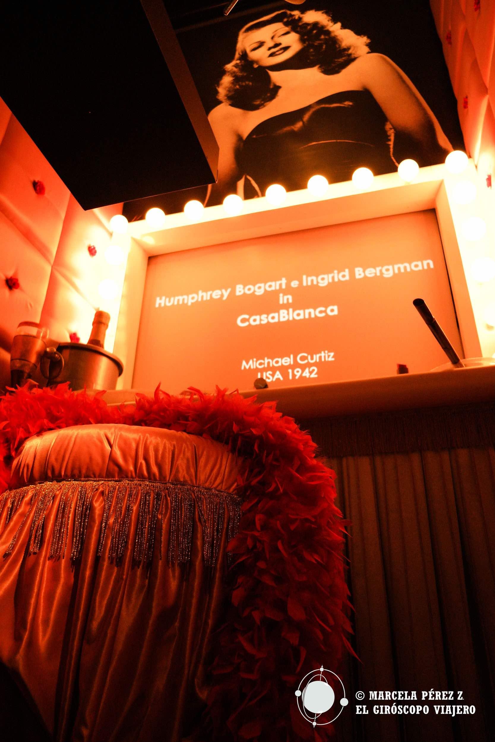 Curiosos homenajes a estrellas de la pantalla grande como Ingrid Bergman
