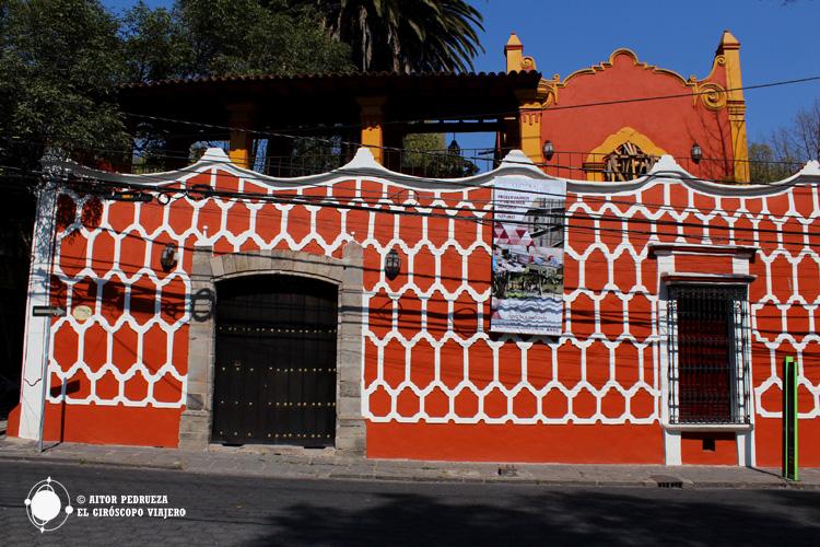 Exterior de la Casa Alvarado en Coyoacán