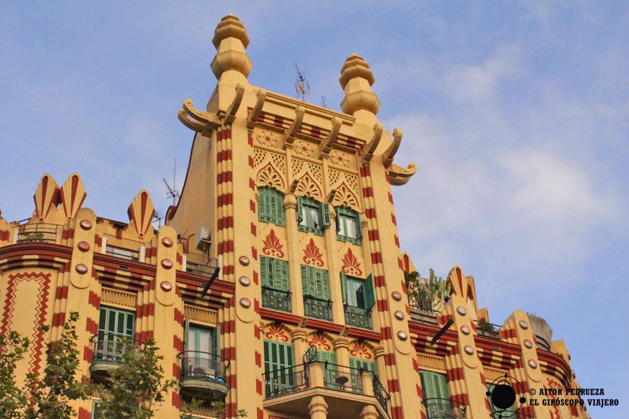 Casa China de Ferran Guardiola en l'Eixample de Barcelona