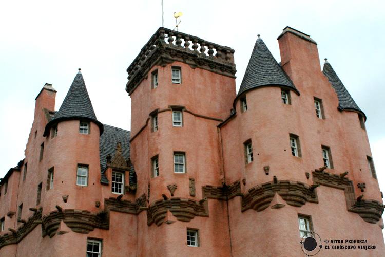 Craigievar, el castillo rosa de Escocia