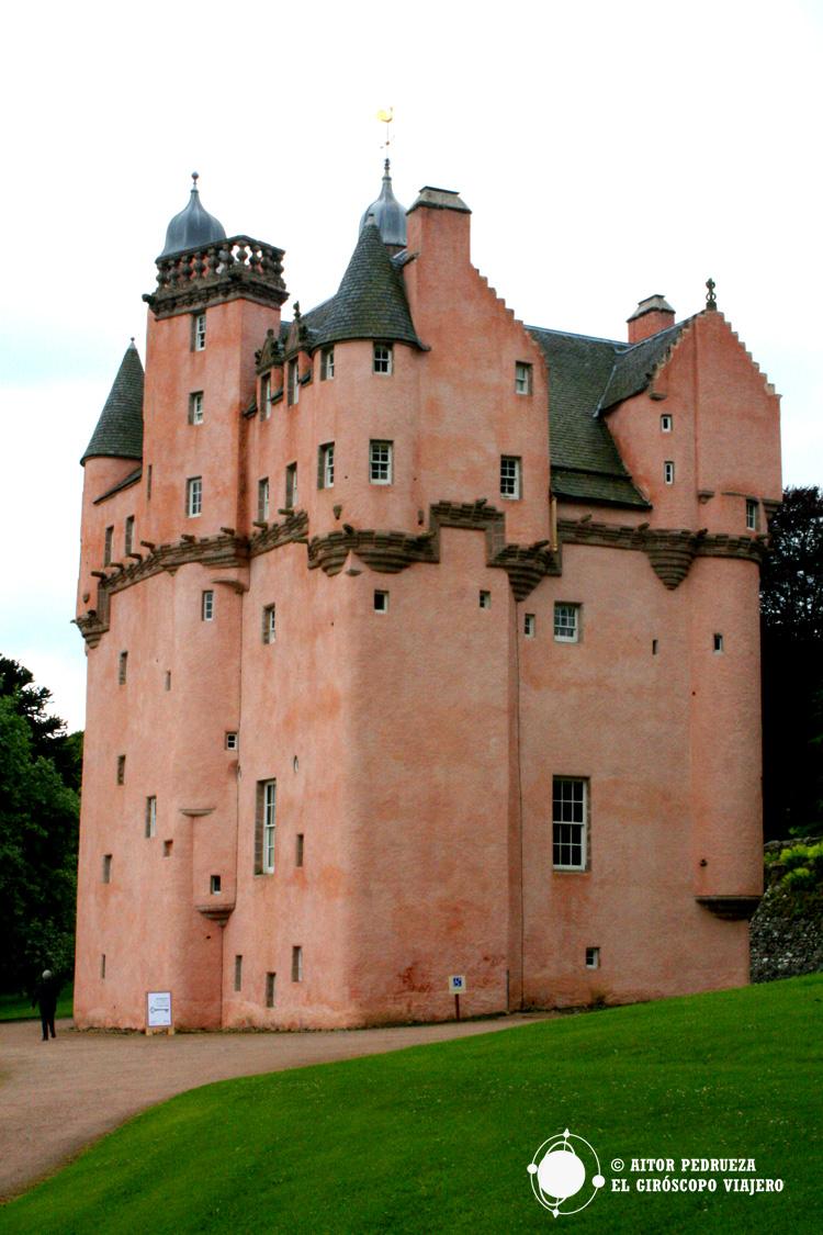 Fachada del castillo de Craigievar