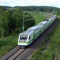 Recorriendo el otoño de Finlandia en tren
