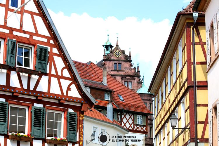 El centro medieval de Gernsbach