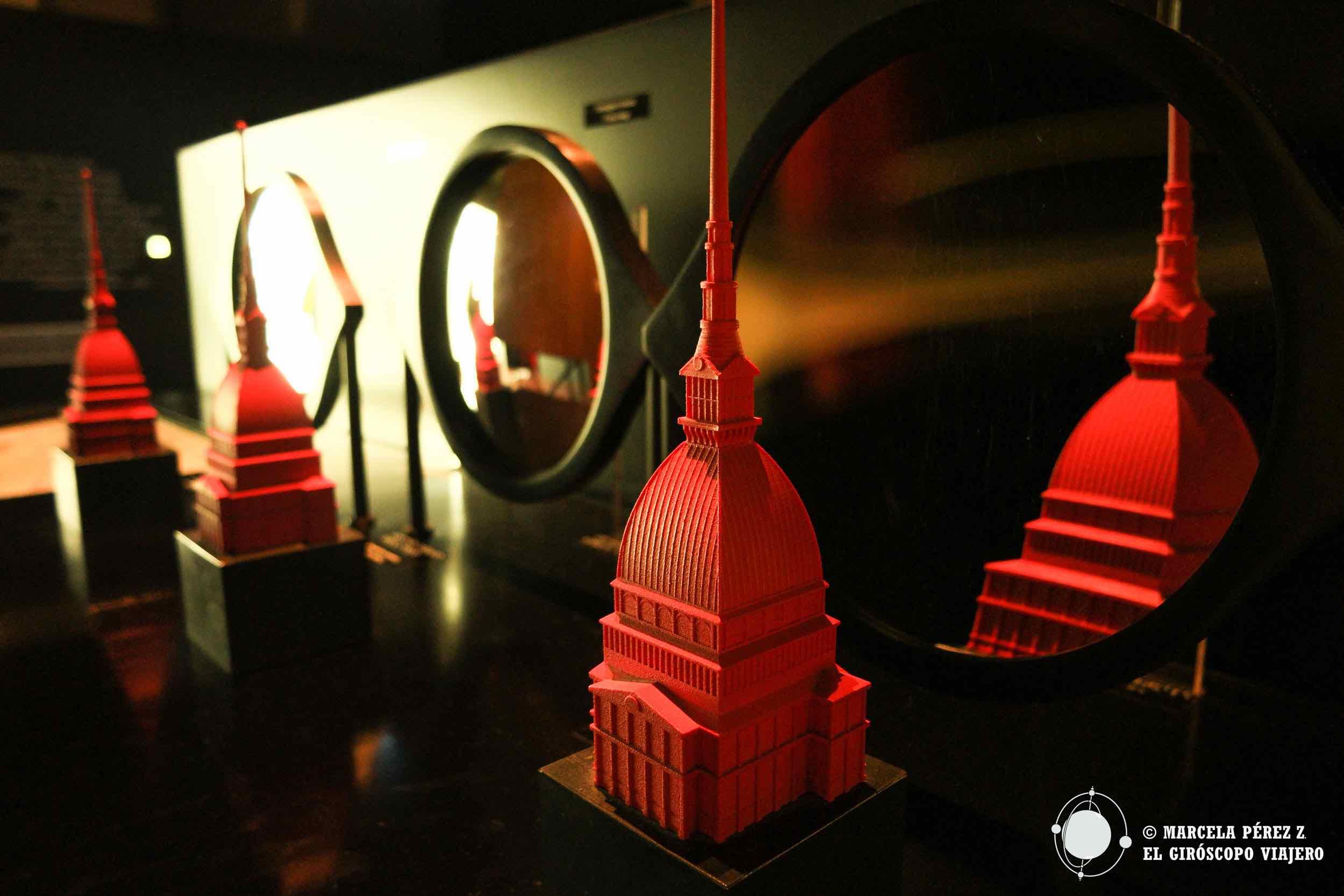 Maquetas de la Torre Antonelliana