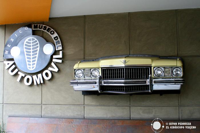 Entrada al Museo del Automóvil de Ciudad de México