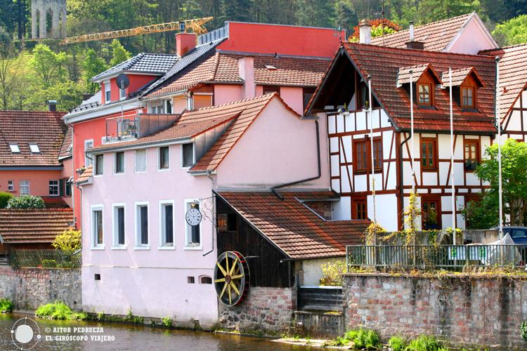 Molino de agua en Gernsbach
