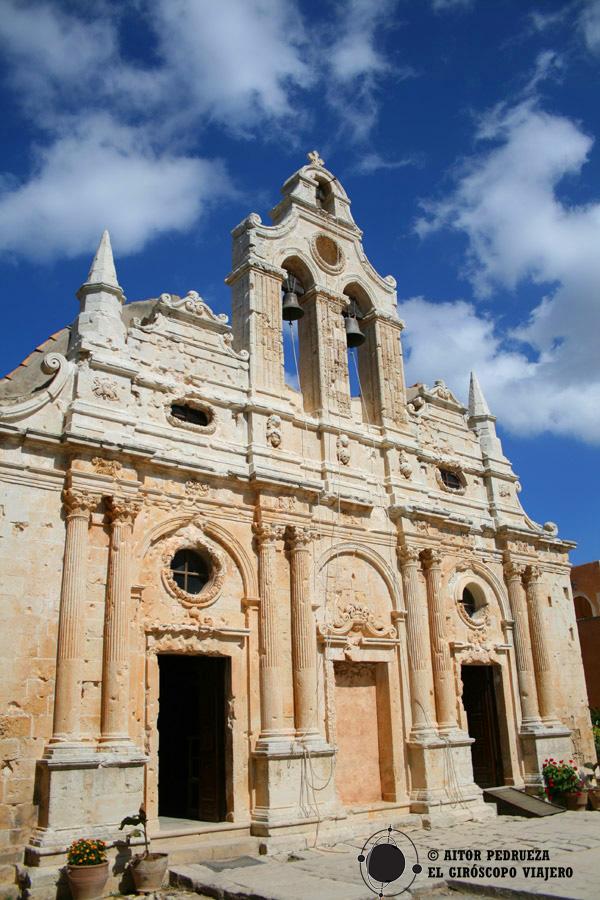 Monasterio de Moni Arkadi en Creta