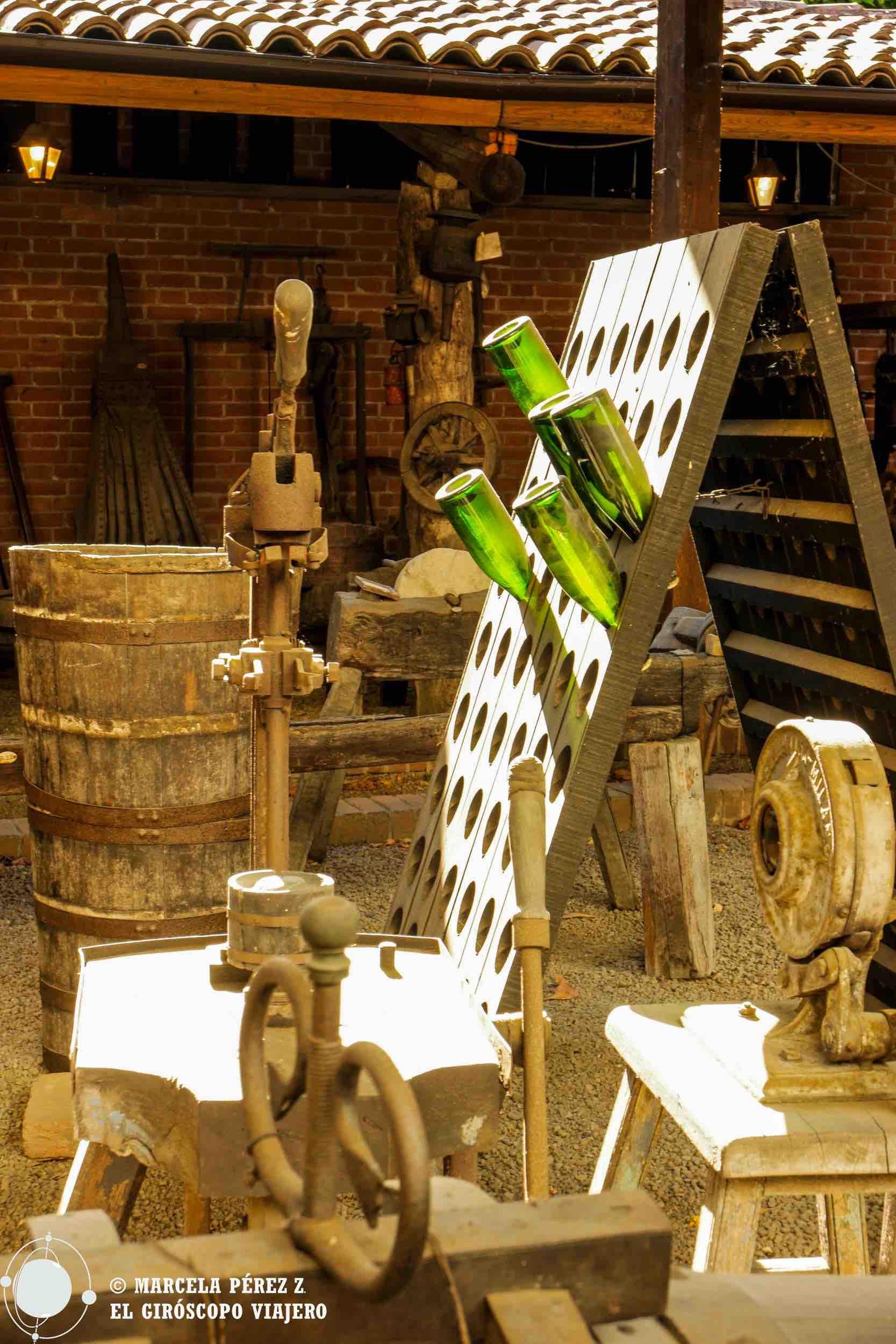 El museo al aire libre de Bersano nos hace un recorrido ilustrativo por el maravilloso arte de hacer vino