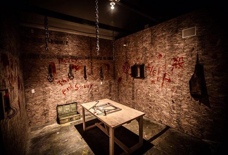 Escape Room de ambiente terrorífico en Canada