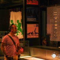 El fascinante diseño de las Olimpiadas de México 68 en el Museo Olímpico de Lausanne, Suiza