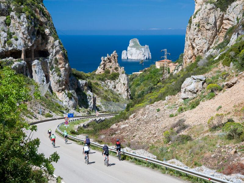 Viajes organizados en Bicicleta. Ruta por Cerdeña