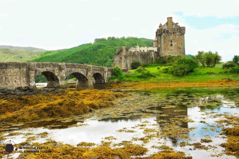 La fortificación de Eilean Donan nos regala estupendas postales