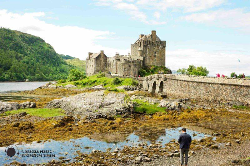 La fisonomía del castillo de Eilean Donan prácticamente no ha cambiado desde la restauración hecha por MacRae