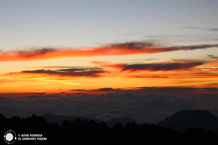 Atardecer desde el Nevado de Toluca