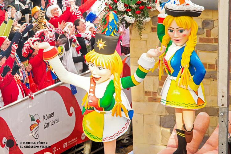 Desfile del carnaval de Colonia