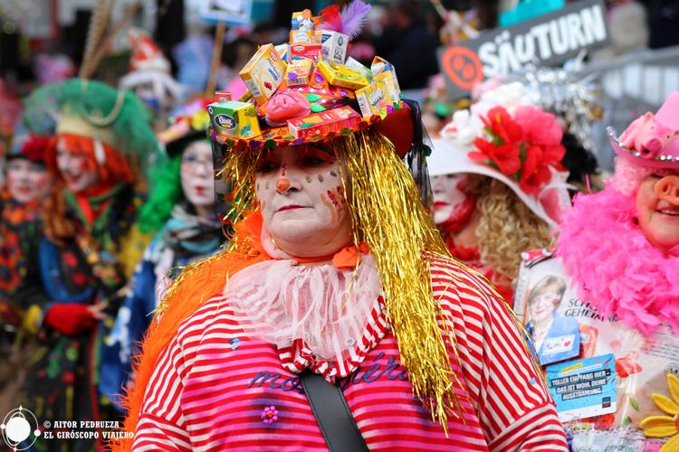 El divertido Carnaval de Colonia