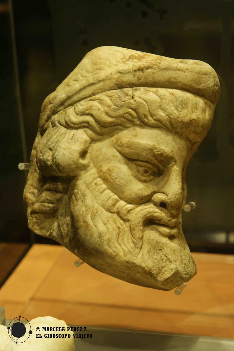 Piezas encontradas en el yacimiento romano de Baetulo