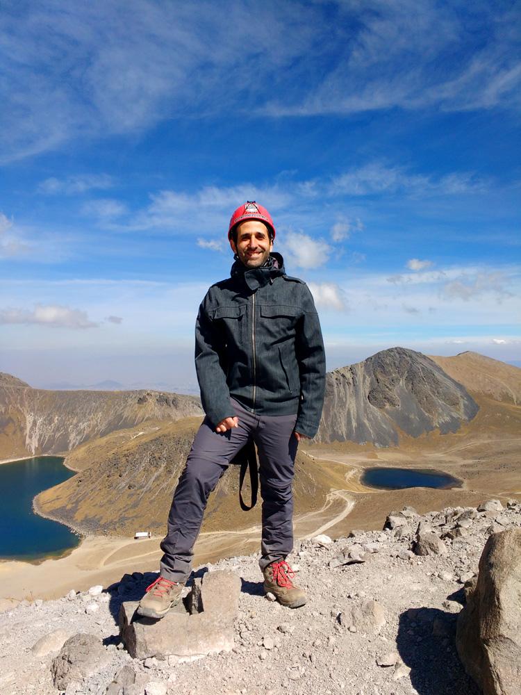 Vistas de los Lagos del Nevado de Toluca antes de culminar el pico