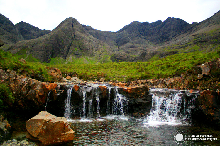 Pozas de las hadas - Fairy Pools