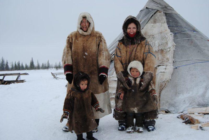 Nenets en la península de Yamal