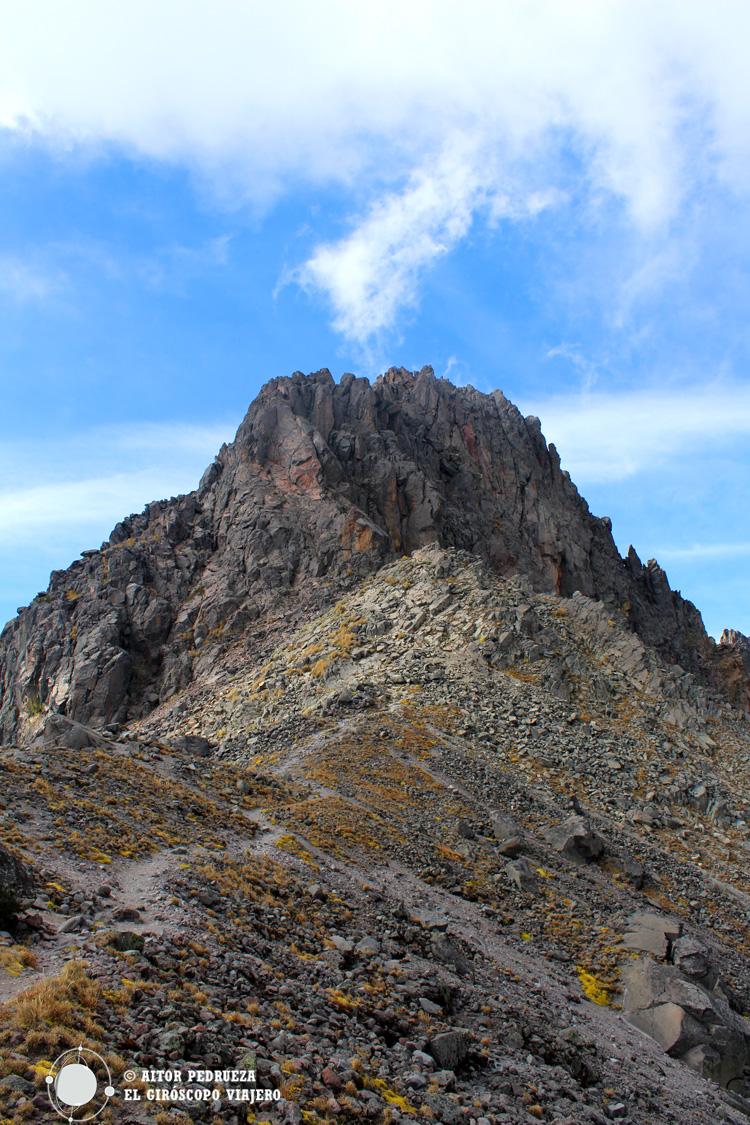 Pico del Fraile, el punto más alto del Nevado de Toluca
