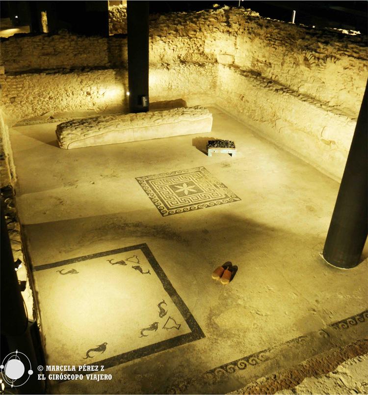 Termas romanas del museo de Badalona