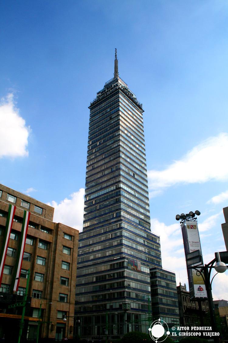 Torre Latinoamericana en Ciudad de México