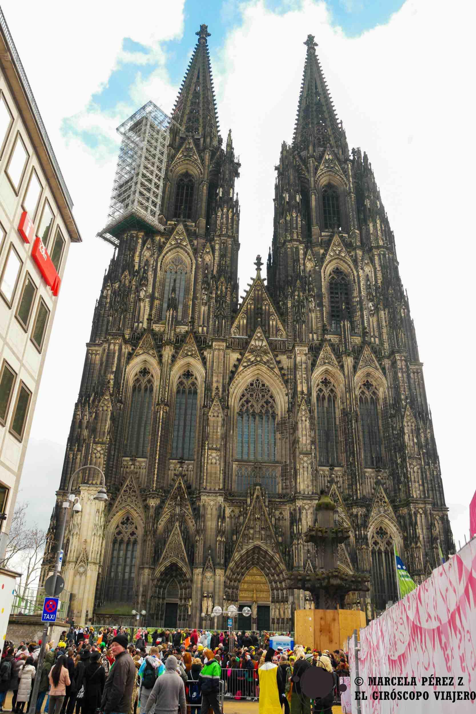 La majestuosidad de la catedral de Colonia nos deja perplejos
