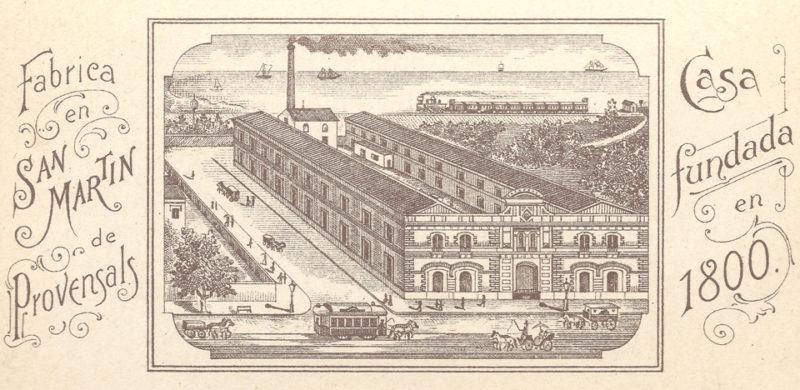 Antigua fábrica Amatller