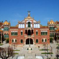 El Hospital modernista de Sant Pau obra de Lluís Domènech i Montaner