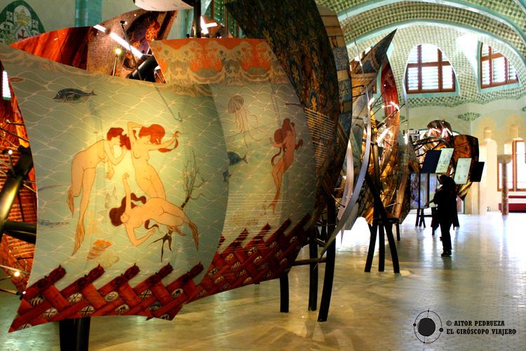 Exposición sobre la figura de Domenech i Muntaner