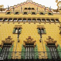 Visita al interior de la Casa Amatller de Puig i Cadafalch