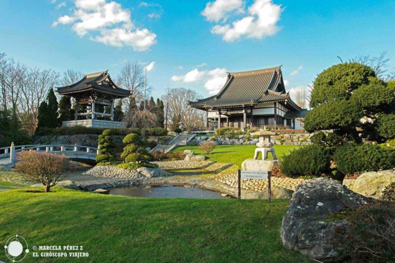 Un remanso de paz el jardín japonés en Düsseldorf