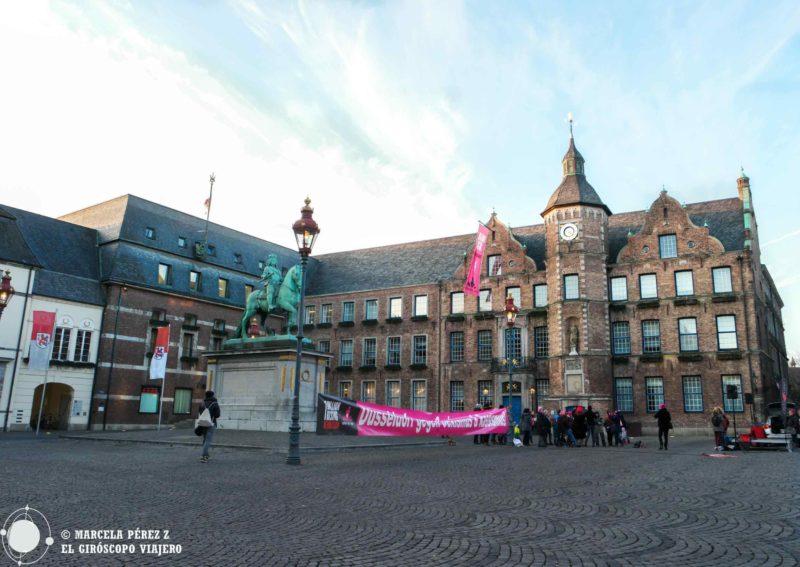 La Markplatz de Dusseldorf