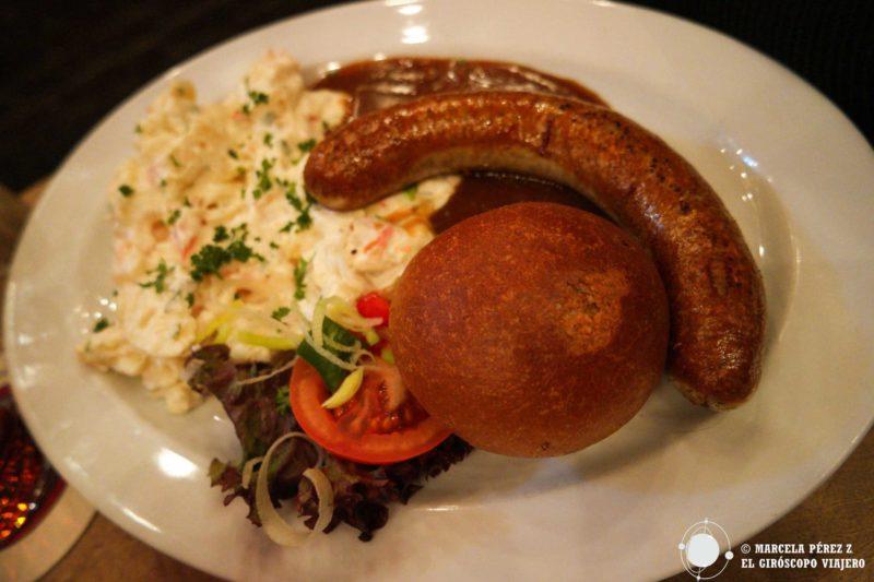 Rica gastronomía alemana