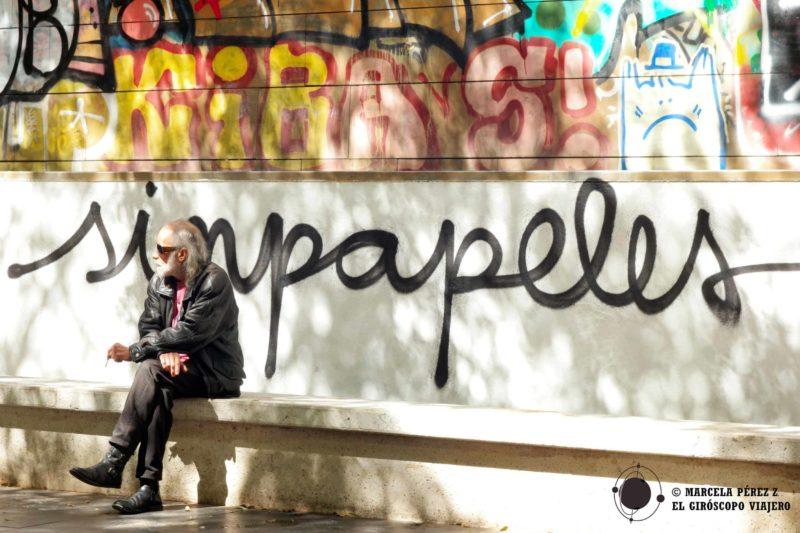 """""""Street Art"""" como un grito de protestas para las minorías ©Marcela Pérez Z."""