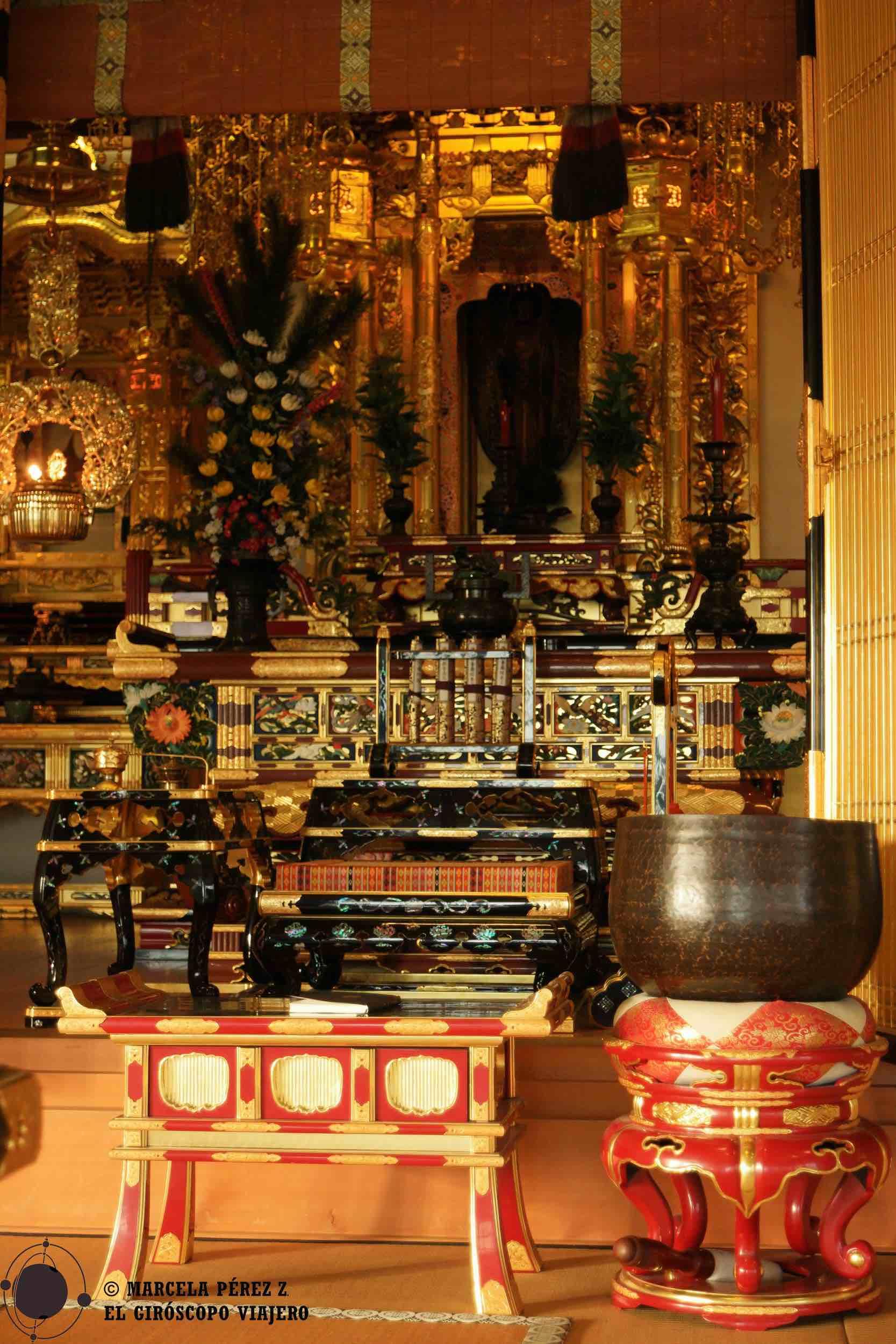 Templo budista en el Centro Cultural Japonés de Düsseldorf