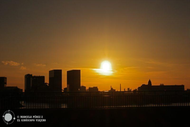 Con éste arte duerme el sol en la ciudad de Düsseldorf
