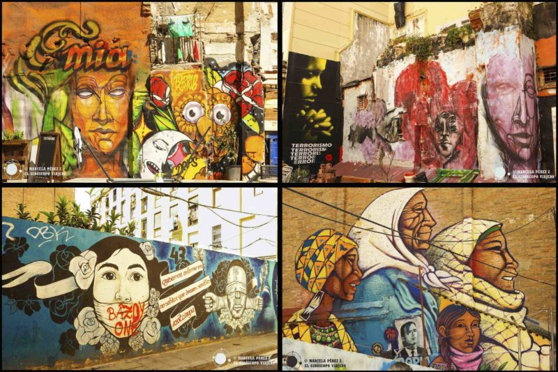 El arte urbano colorea las ciudades ©Marcela Pérez Z.