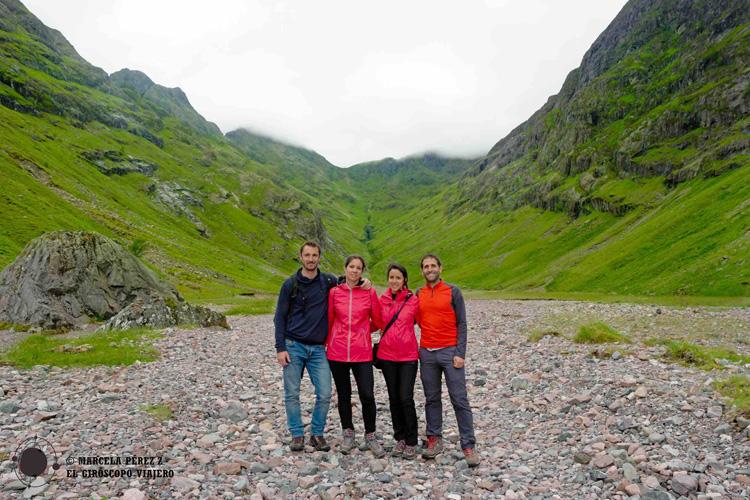 """""""Escondidos"""" en el valle perdido de Glencoe"""