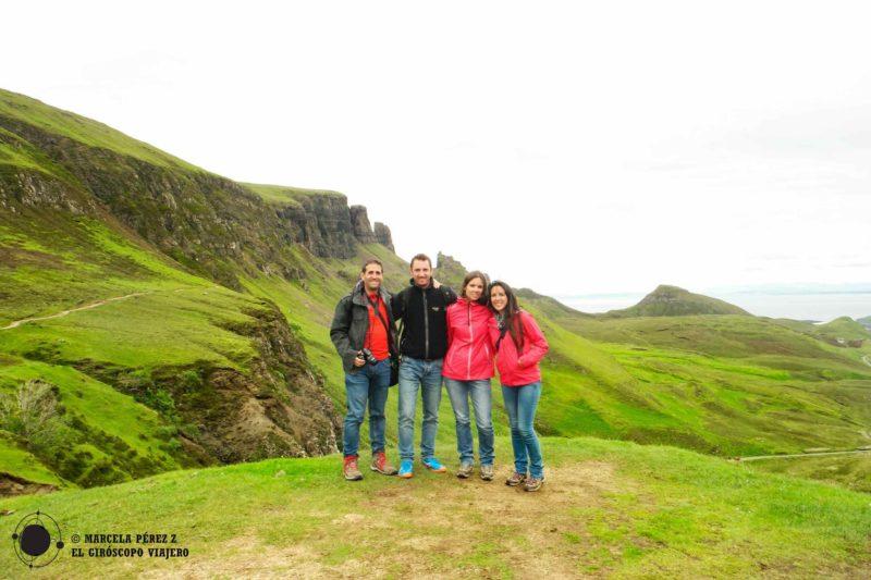 Uno de los impresionantes de la Isla de Skye ©Marcela Pérez Z.