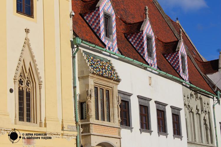 Edificios en la plaza del antiguo ayuntamiento